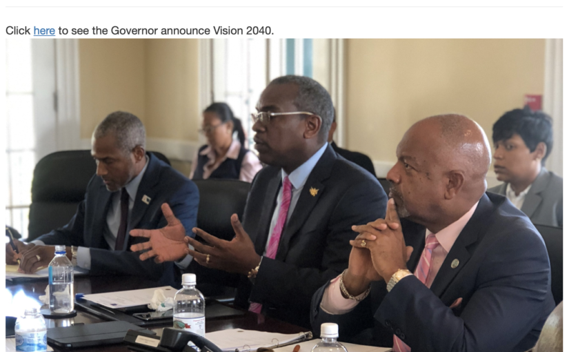 "VIPCA a leading component of the ""U.S. Virgin islands Vision 2040"" initiative"
