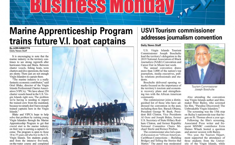 VIPCA Marine Apprenticeship – it's a wrap for 1019