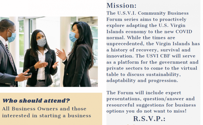 USVI Governments Community Business Forum